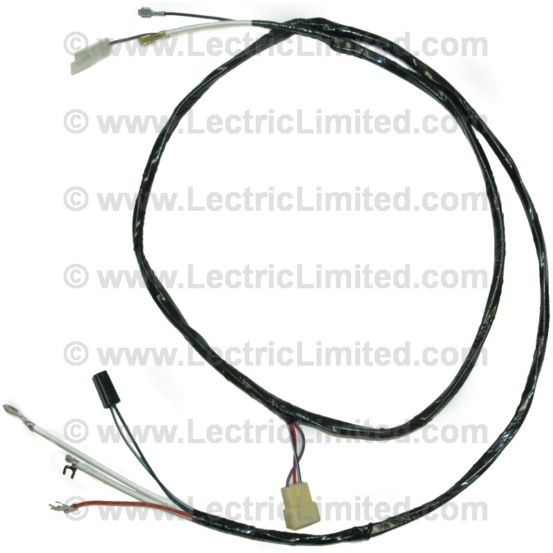 transistor ignition auxiliary harness