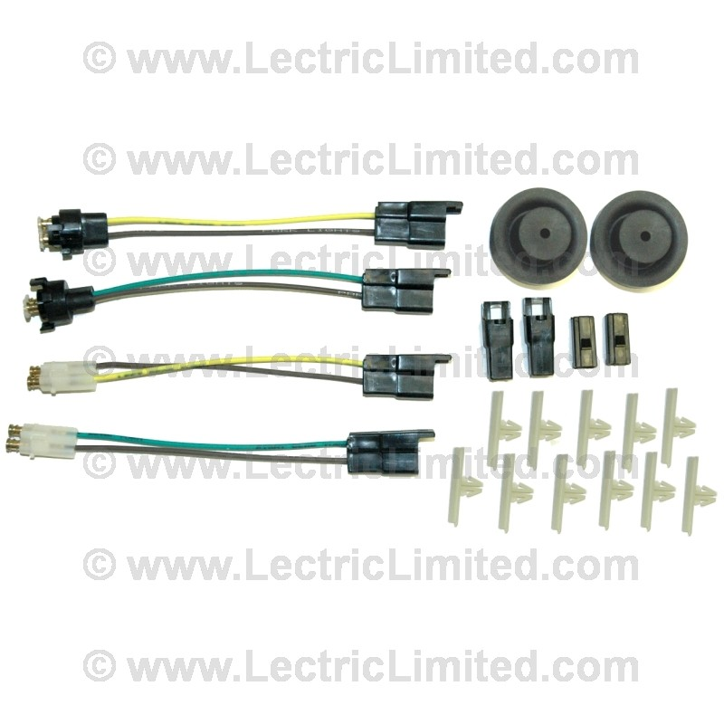 classic update series wiring harness light kit 510166 lectric limited
