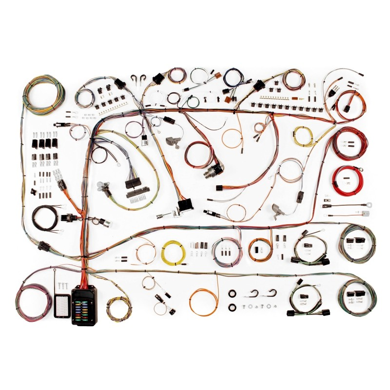 510591 classic update series wiring harness system 510591 lectric limited