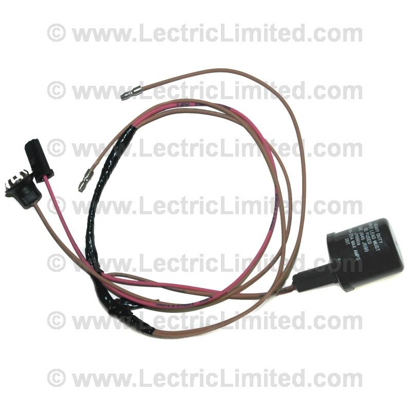 Restomod series wiring harness emergency brake warning