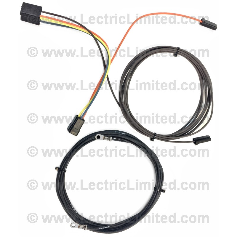 restomod series wiring harness rear blower motor kit