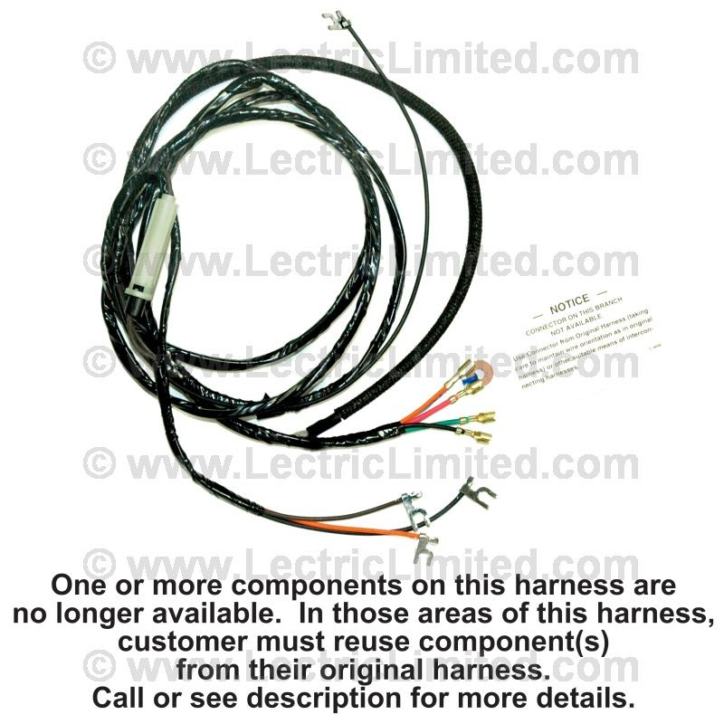 transmission overdrive harness