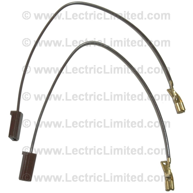 windshield washer pump feed wires