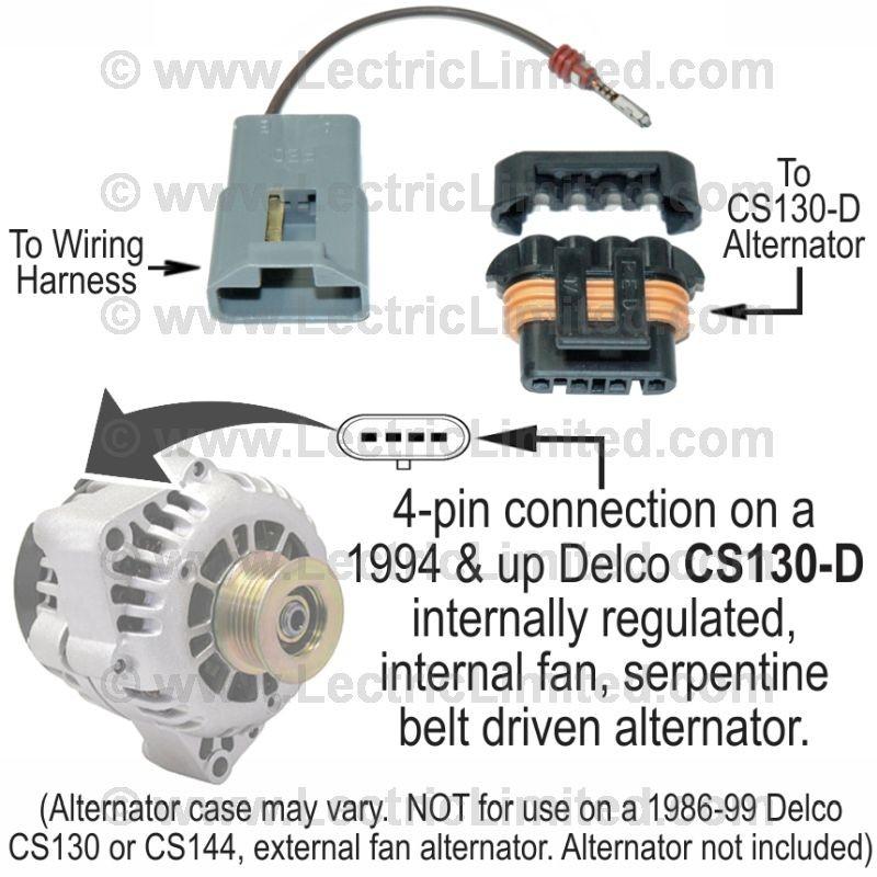 [CSDW_4250]   Restomod Series Alternator Conversion Harness   #500295   Lectric Limited   Alternator Conversion Wiring Harness      Lectric Limited