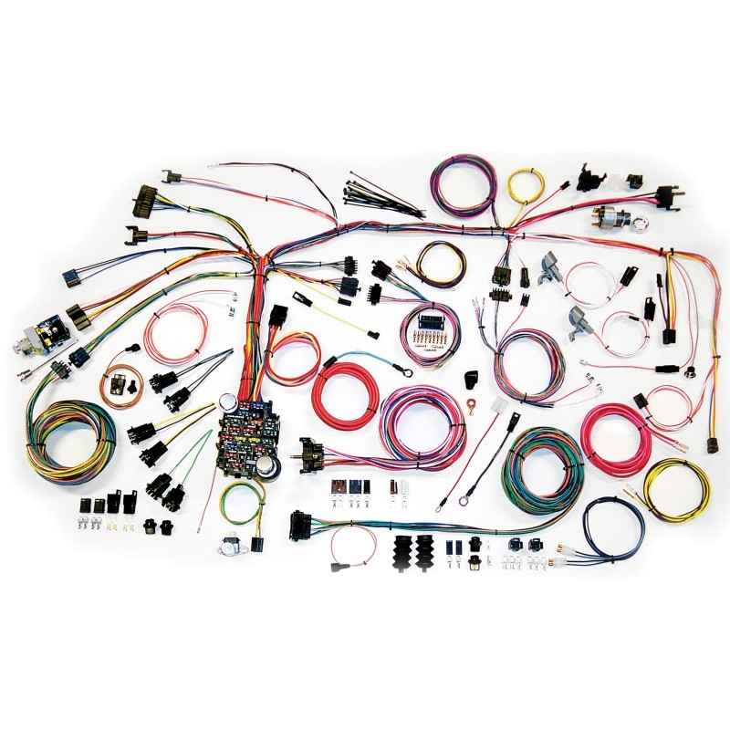 classic update series wiring harness system 500661 lectric limited