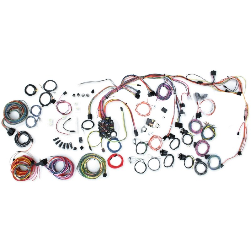 classic update series wiring harness system 500686 lectric classic update series wiring harness system