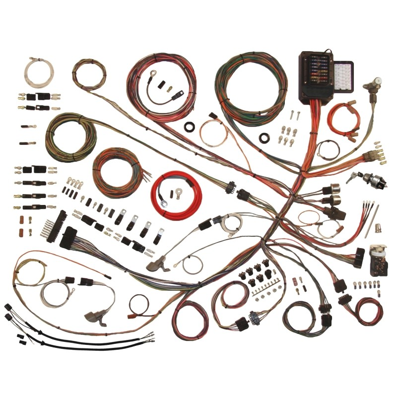 510303 classic update series wiring harness system 510303 lectric Wiring Harness Diagram at bayanpartner.co