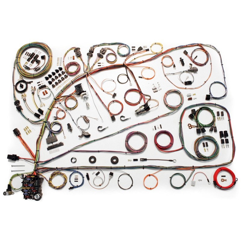 classic update series wiring harness system 510391 lectric classic update series wiring harness system