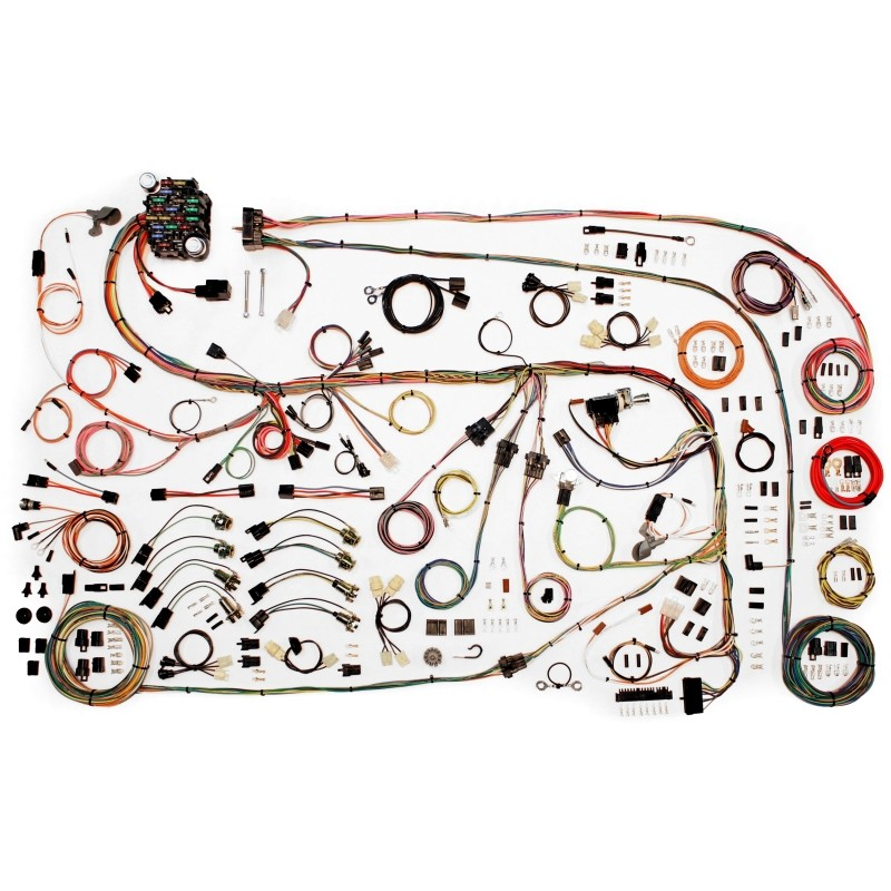 classic update series wiring harness system 510603 lectric classic update series wiring harness system