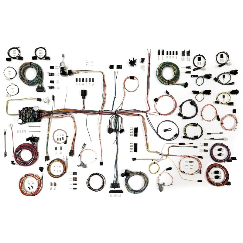 classic update series wiring harness system 510645 lectric classic update series wiring harness system