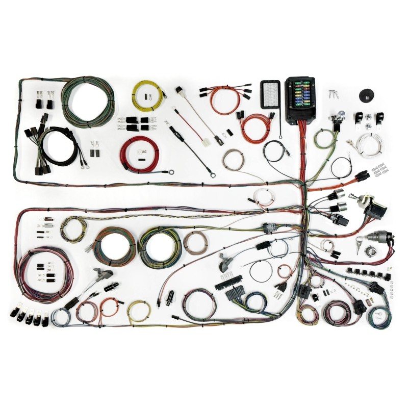 classic update series wiring harness system 510651 lectric classic update series wiring harness system