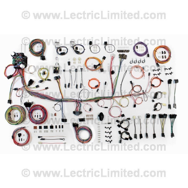 510683 classic update series wiring harness system 510683 lectric limited