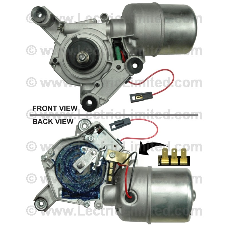 Windshield wiper motor dr98243 lectric limited for How do you replace a windshield wiper motor