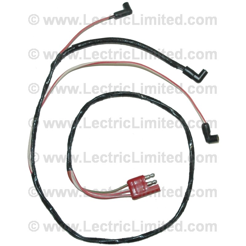 engine gauge feed harness