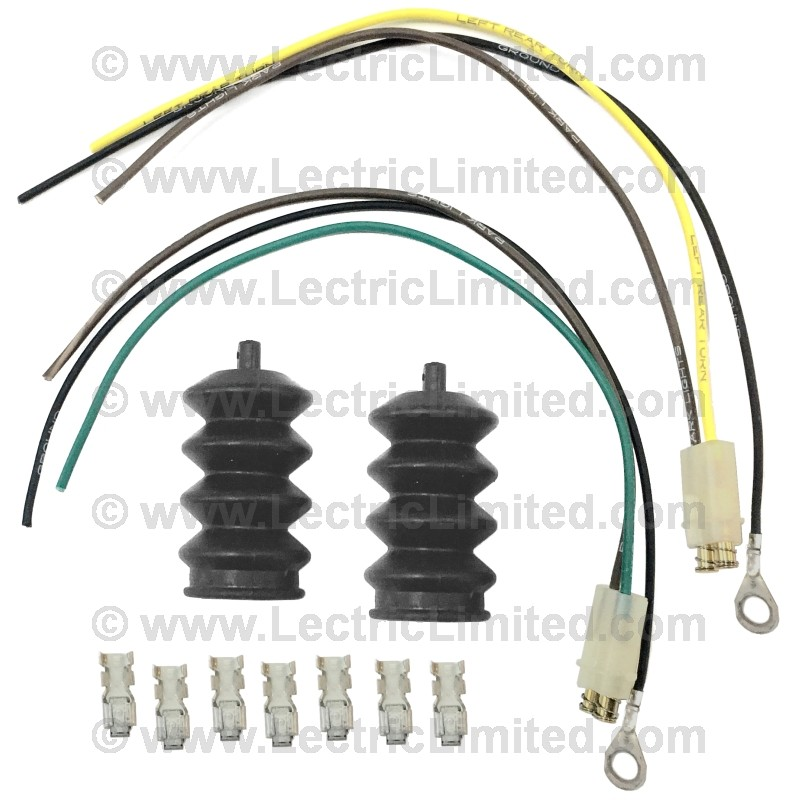 restomod series wiring harness 6 light kit vcu6367tl lectric limited