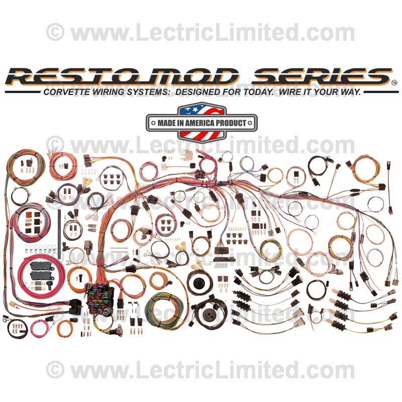 [DIAGRAM_5UK]  Restomod Series Wiring Harness System | #VCU6876 | Lectric Limited | Lectric Limited Wiring Harness |  | Lectric Limited