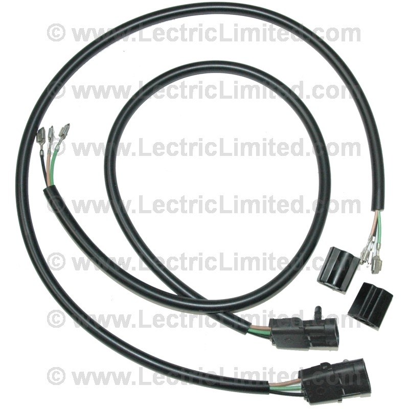headlight bucket extension harness set