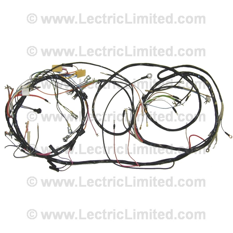 dash and forward lamp harness