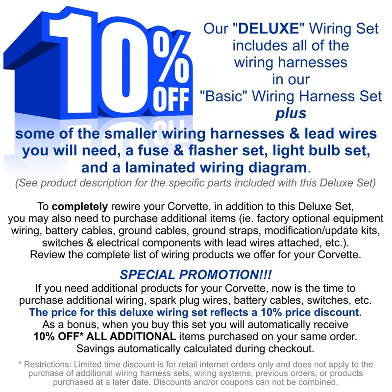Original Design Series Wiring Harness Deluxe Set   #VS6300D1 ... on
