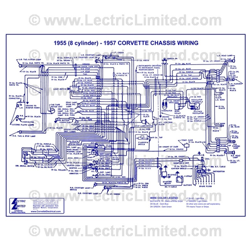 VWD5557 wiring diagram vwd5557 lectric limited 1960 corvette wiring diagram at aneh.co