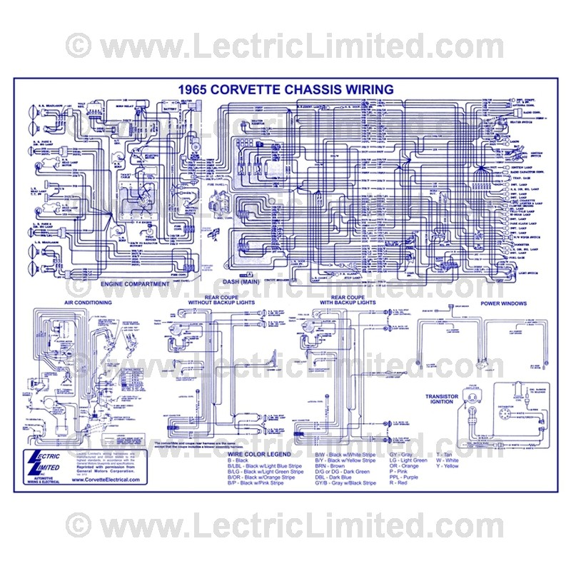 Wiring Diagram Vwd6500 Lectric Limitedrhlectriclimited: 1965 Corvette Dash Wiring Diagram At Gmaili.net