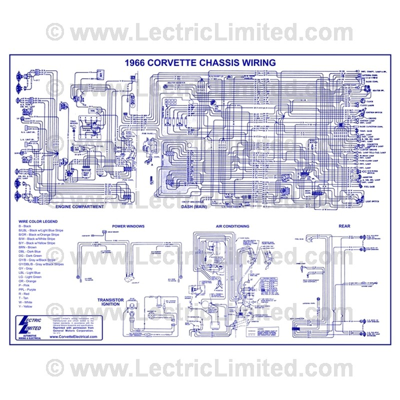Wiring Diagram Vwd6600 Lectric Limitedrhlectriclimited: Engine Wiring Diagram For 1966 Corvette At Gmaili.net