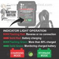 BBFC100 - Battery Butler Battery Storage Charger: 12 Volt