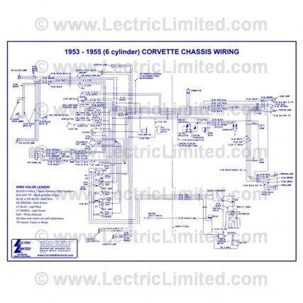 VWD5355 connector stop tail light vrh5373pt lectric limited 1960 corvette wiring diagram at fashall.co