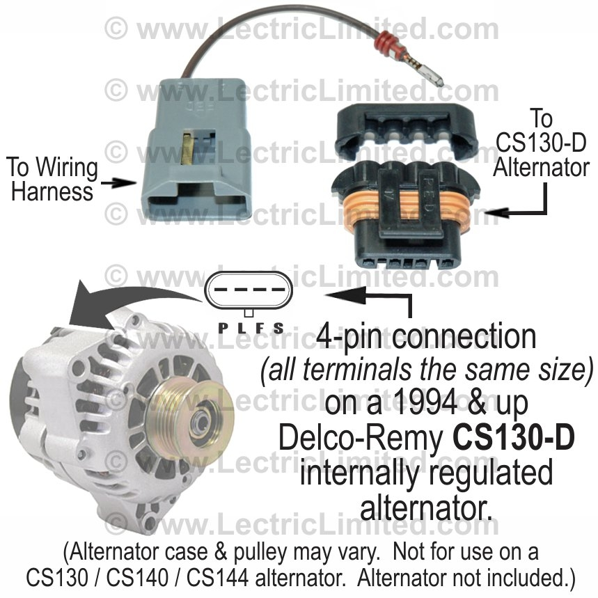 Cs d wiring diagram alternator