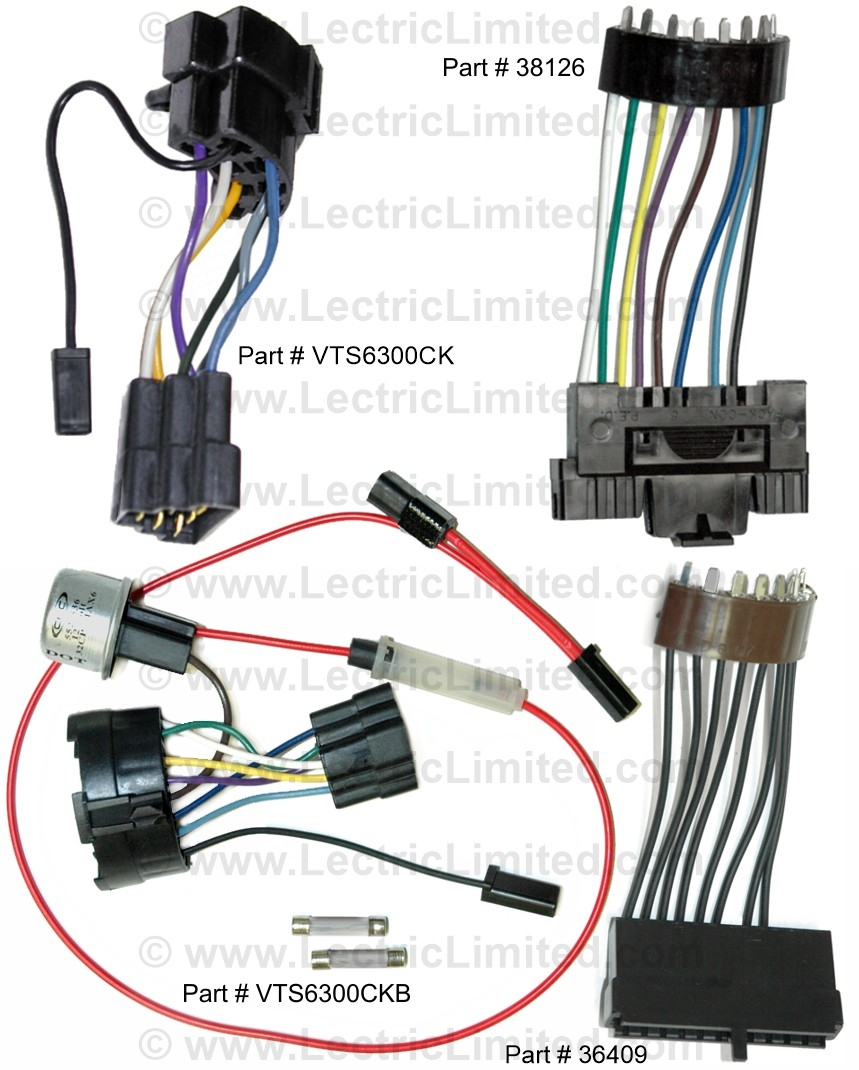Steering Column Conversion Harnesses