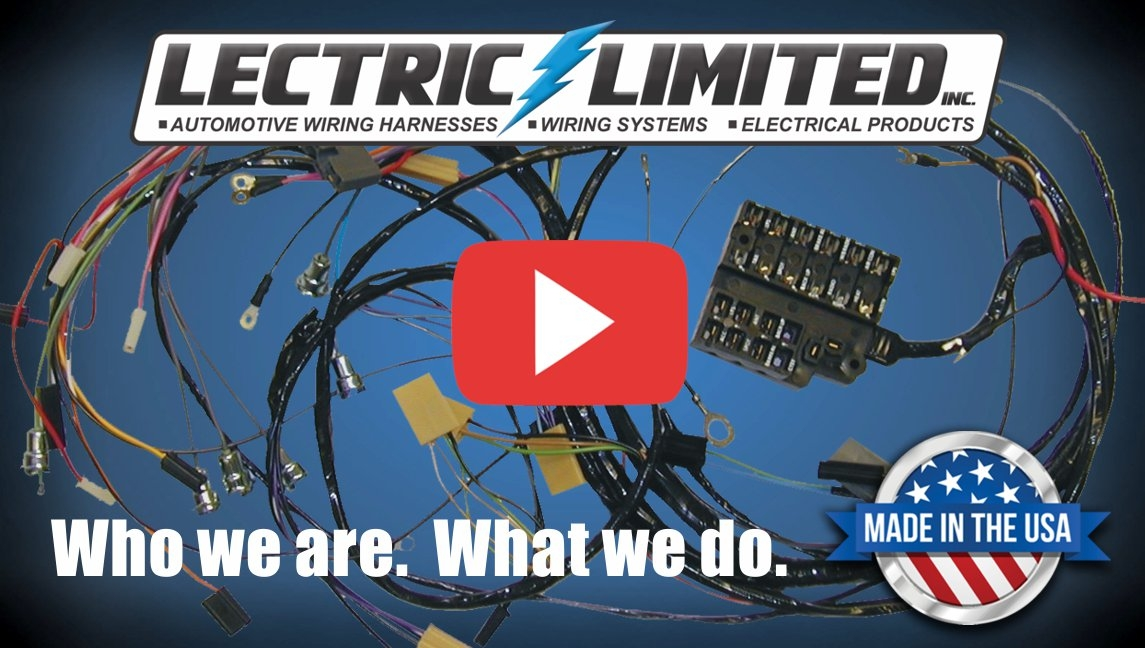youtube_placeholder lectric limited gm mopar ford corvette wiring harnesses spark  at readyjetset.co