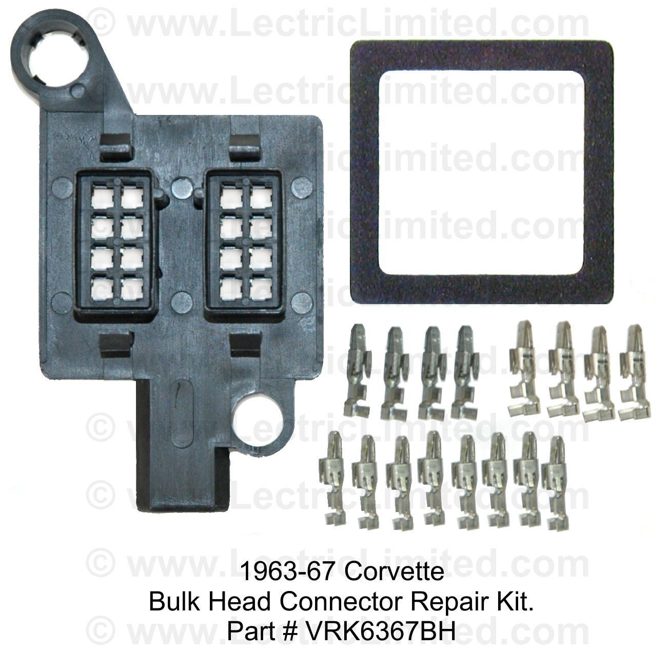 bulk_head_connector_repair_kits repair components 67 Mustang Dash Wiring at eliteediting.co
