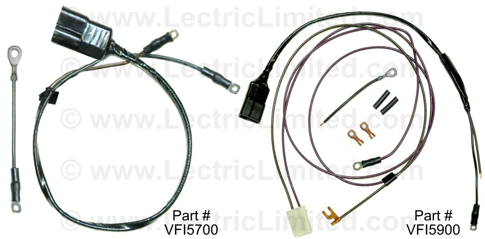 Fuel injection Electric Choke Cover Lead Repair Kit