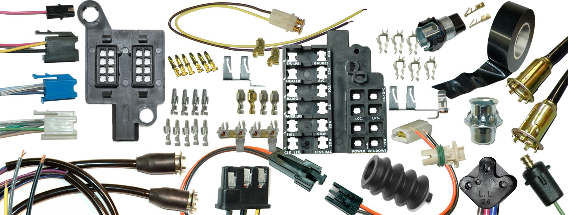 repair components rh lectriclimited com OEM Wiring Harness Connectors OEM Replacement Wiring Harness