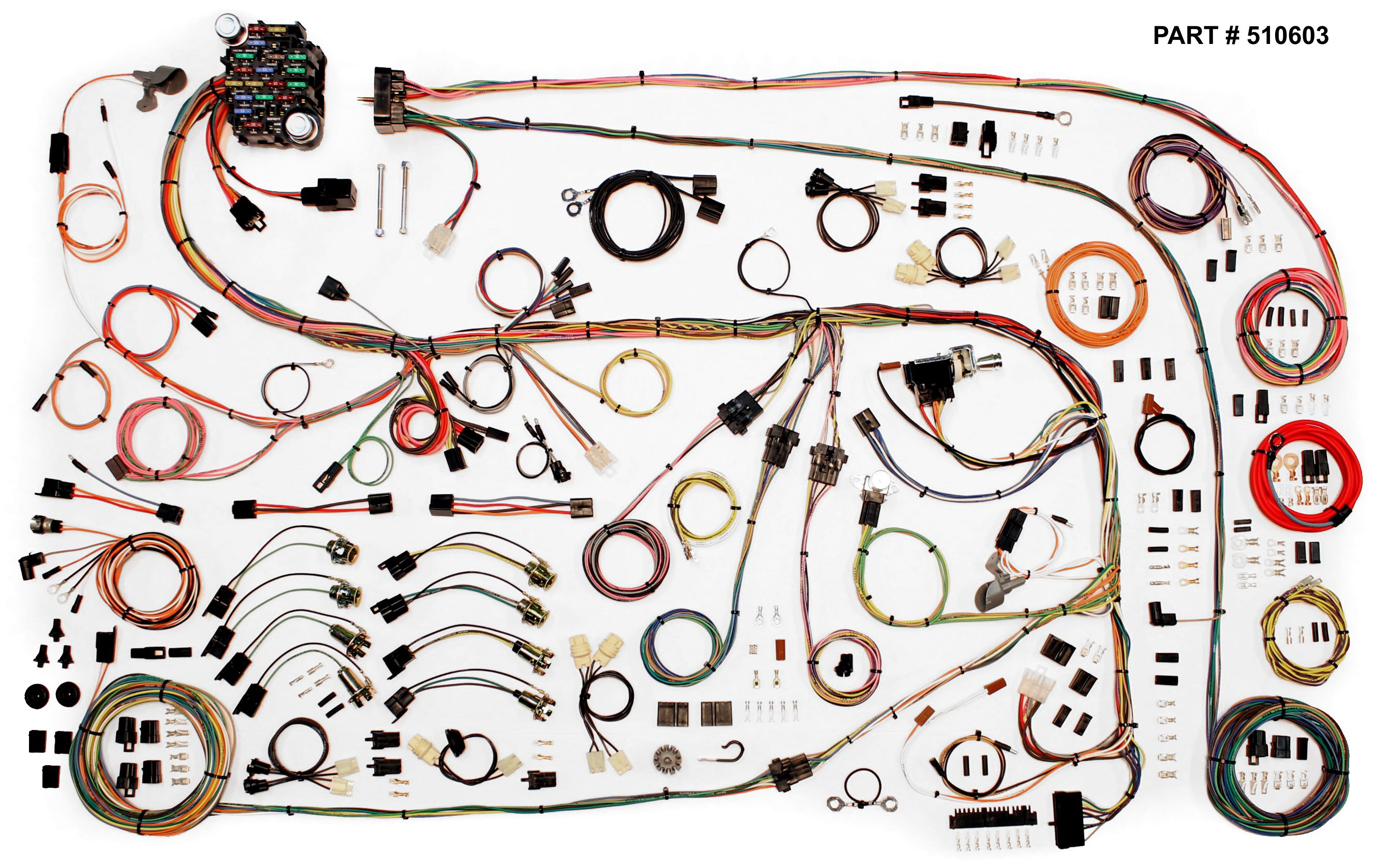 1967 1975 Chrysler A Body Restomod Wiring System 1970 Plymouth Satellite Diagram 75 Harness