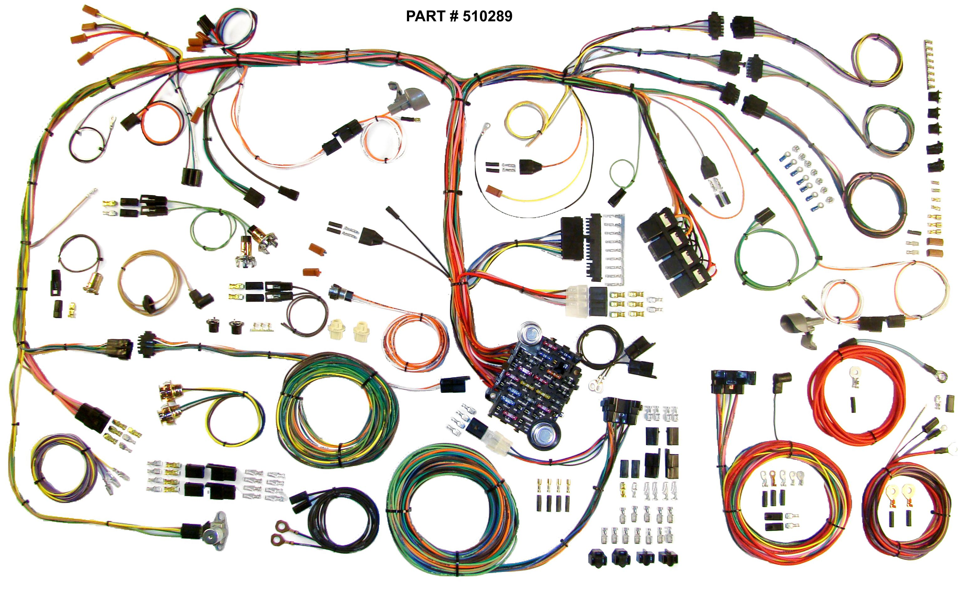 1970-74 Chrysler Barracuda Challenger RestoMod Wiring Harness System