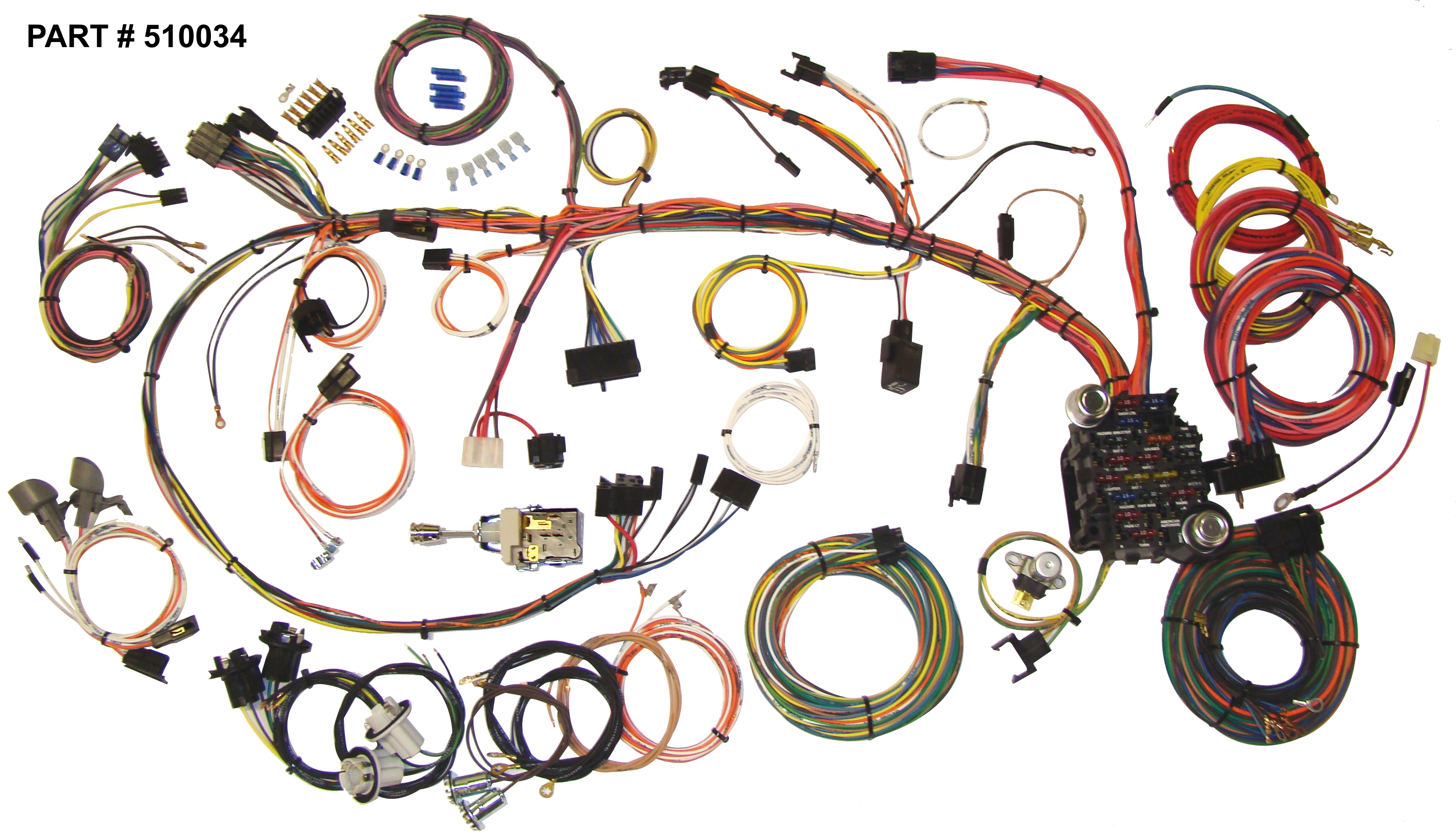 1970 Chevy Camaro Wiring Harness Diagrams Drag Car El Camino Diagram 1973 Chevrolet Restomod System 1979 73