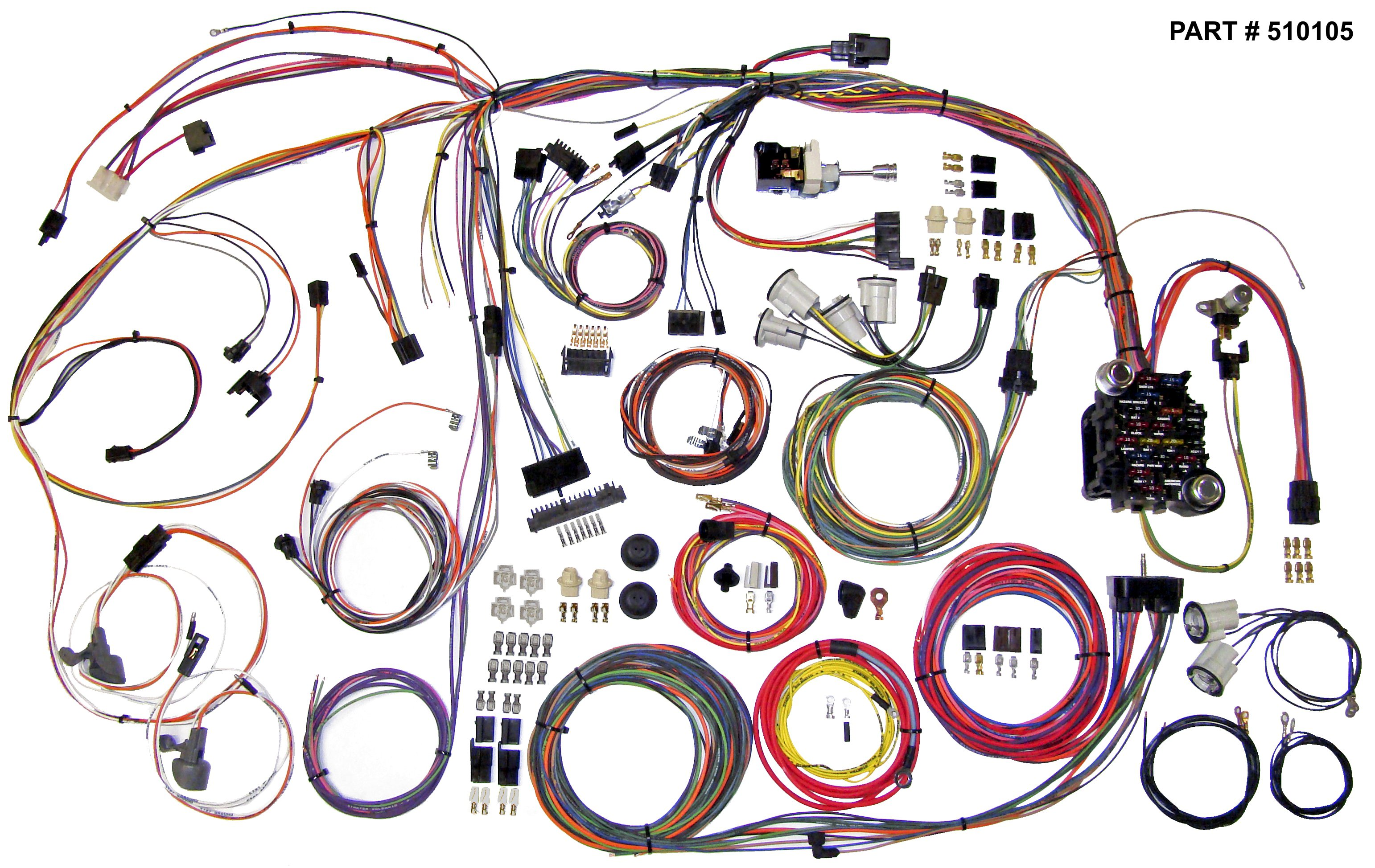 1970-72 chevelle restomod wiring harness system