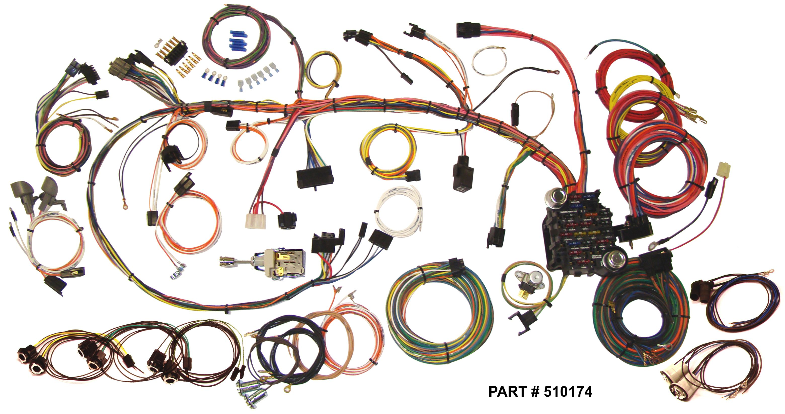1970-73 Firebird RestoMod Wiring Harness System