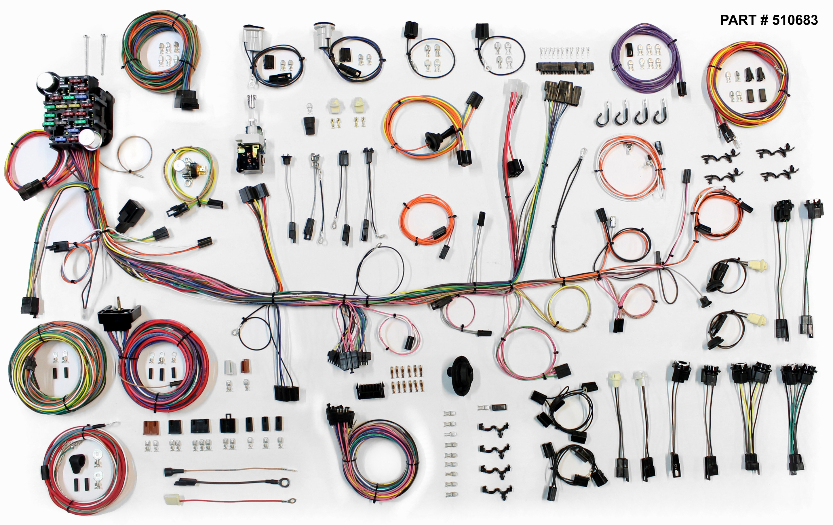 1974-78 firebird restomod wiring harness system