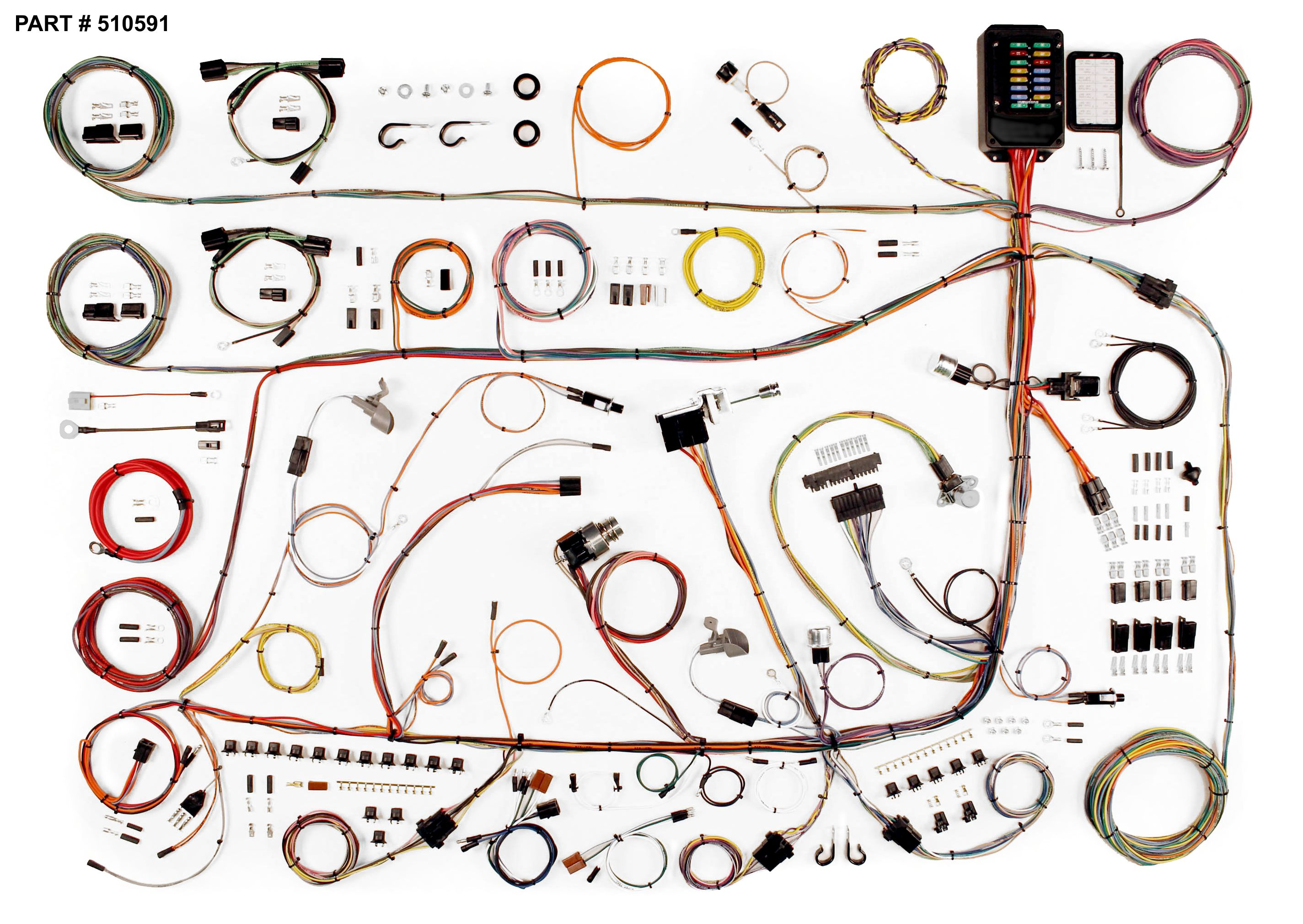 Wrg 9303 1956 Mercury Wiring Harness