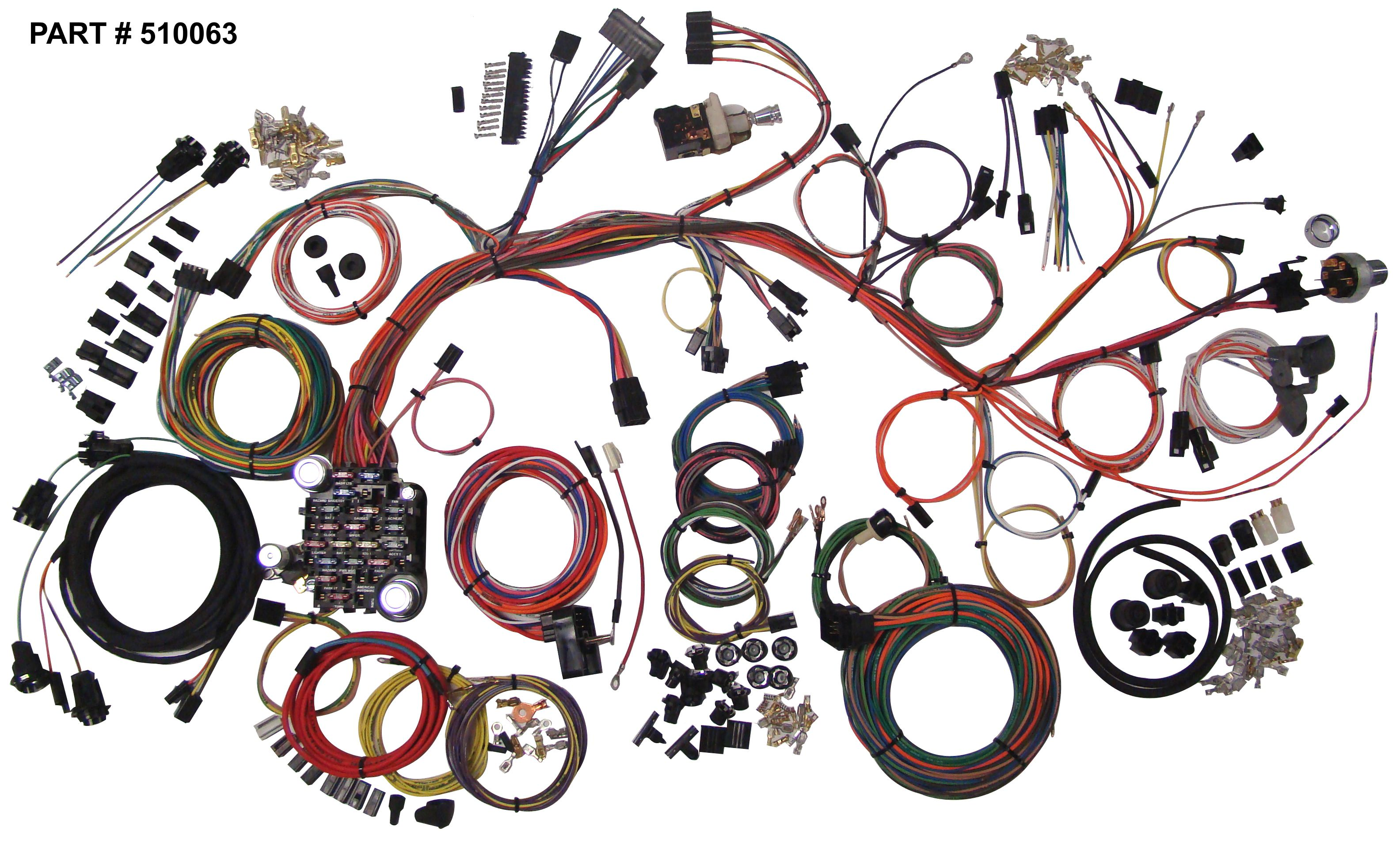 68 Impala Wiring Harness Library Suzuki Khyber And Old Parts 1961 1964 Chevrolet Restomod System Rh Lectriclimited Com 1968 1962