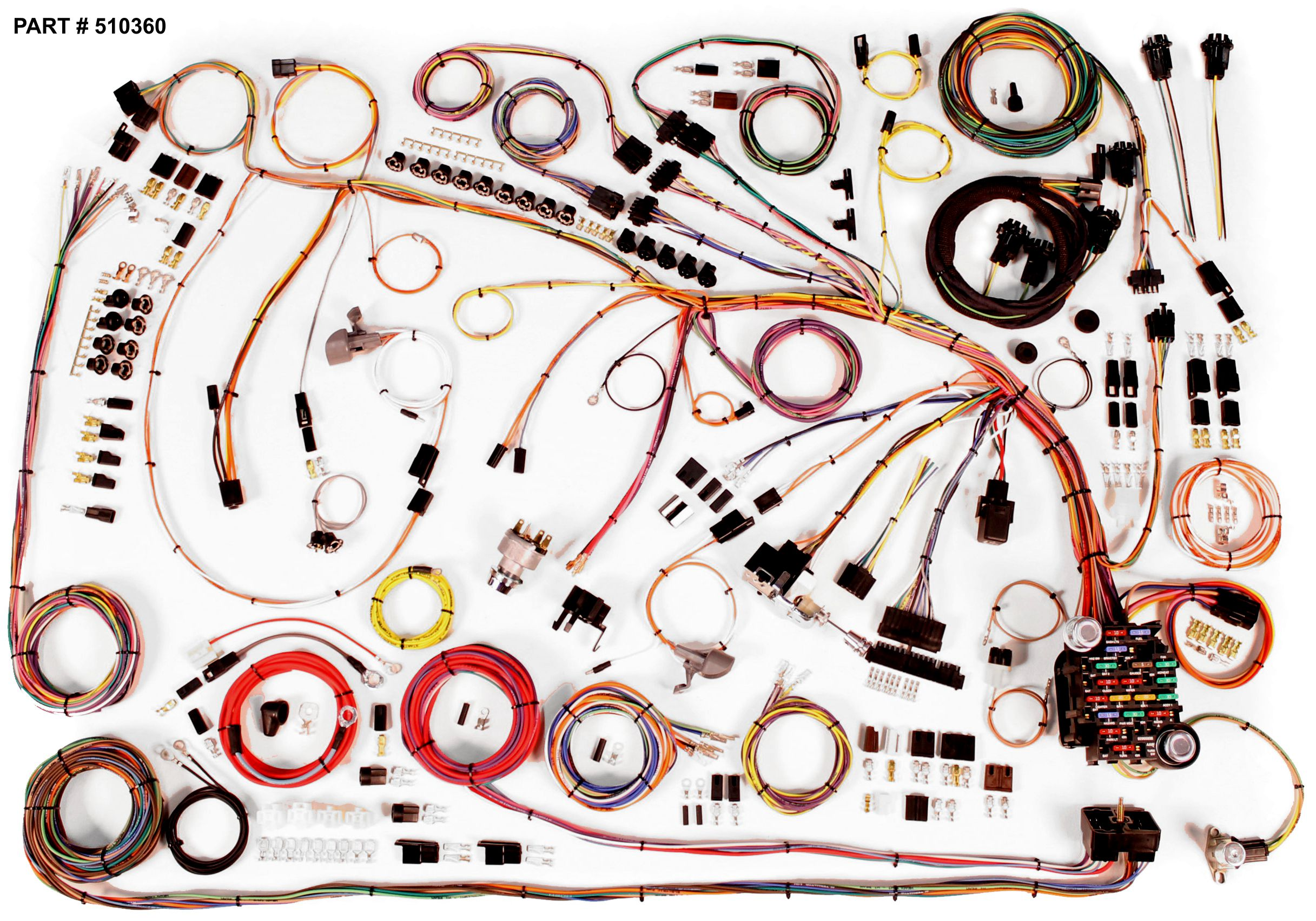 1965_510360 1965 chevrolet impala restomod wiring system 65 chevy wiring harness at readyjetset.co