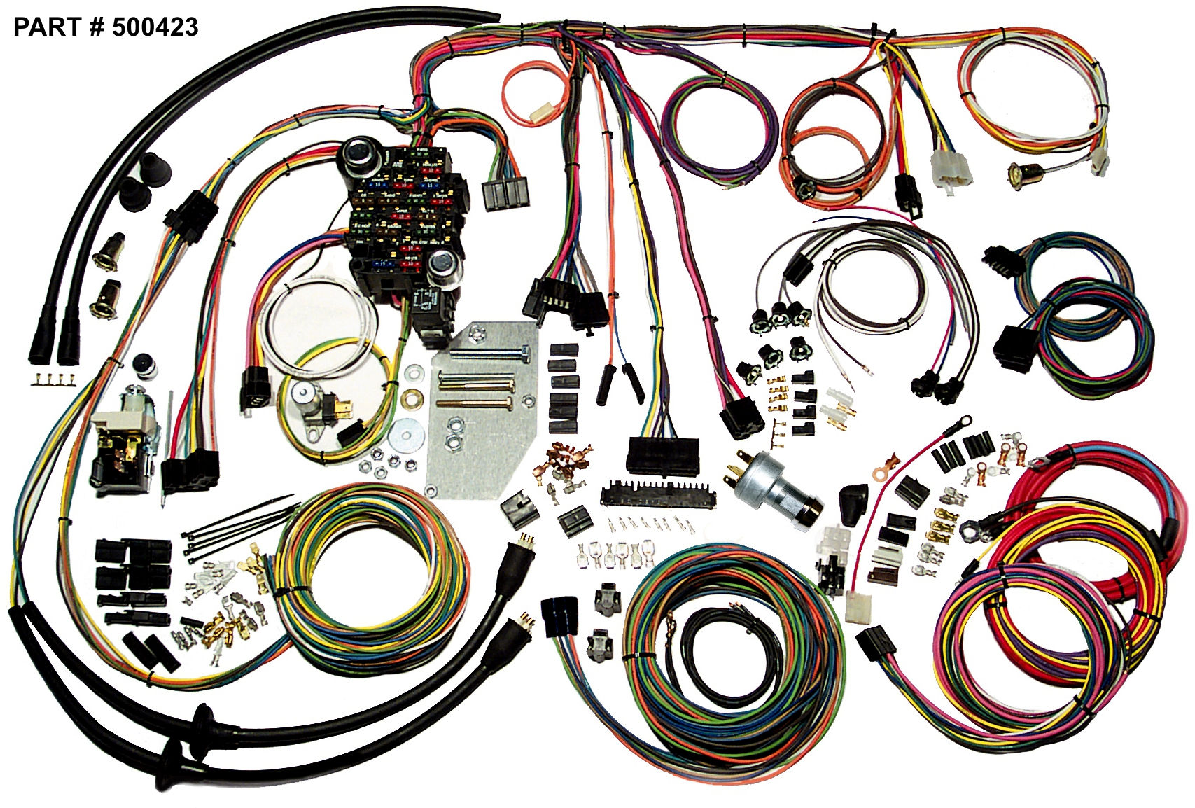 Diagram Wiring Harness Kits For Cars Old - Wiring Diagram Go on universal exhaust kit, universal grille kit, universal intercooler kit, universal bracket kit, universal aircraft harness kit, universal clutch kit, universal horn kit, universal headlight kit, universal gasket kit,