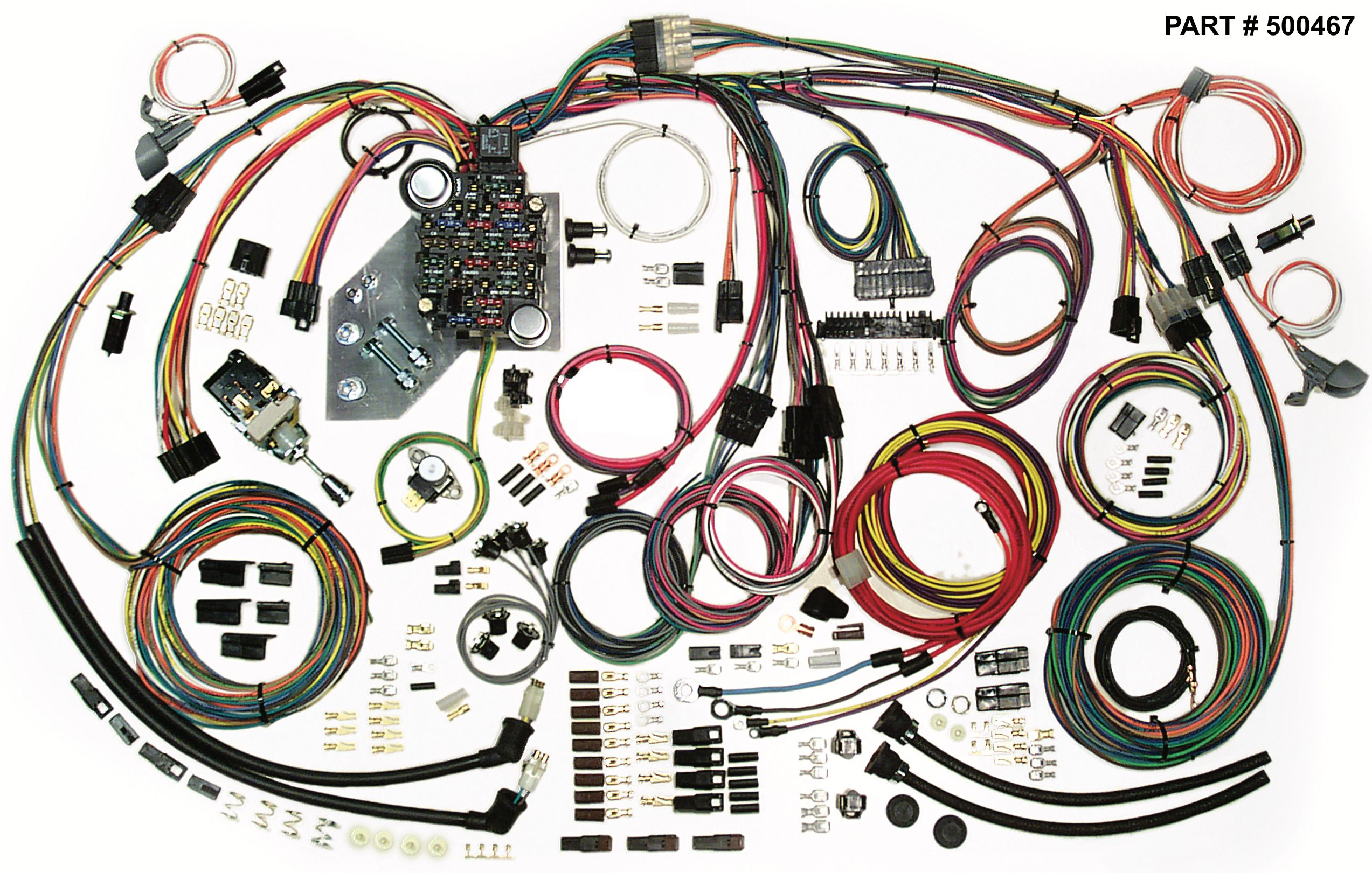 1947 (2nd Series) 1955 (1st Series) Chevrolet & Gmc Trucks 1954 Chevy  Wiring Harness Wiring Harness Kits For 1958 Chevy Truck
