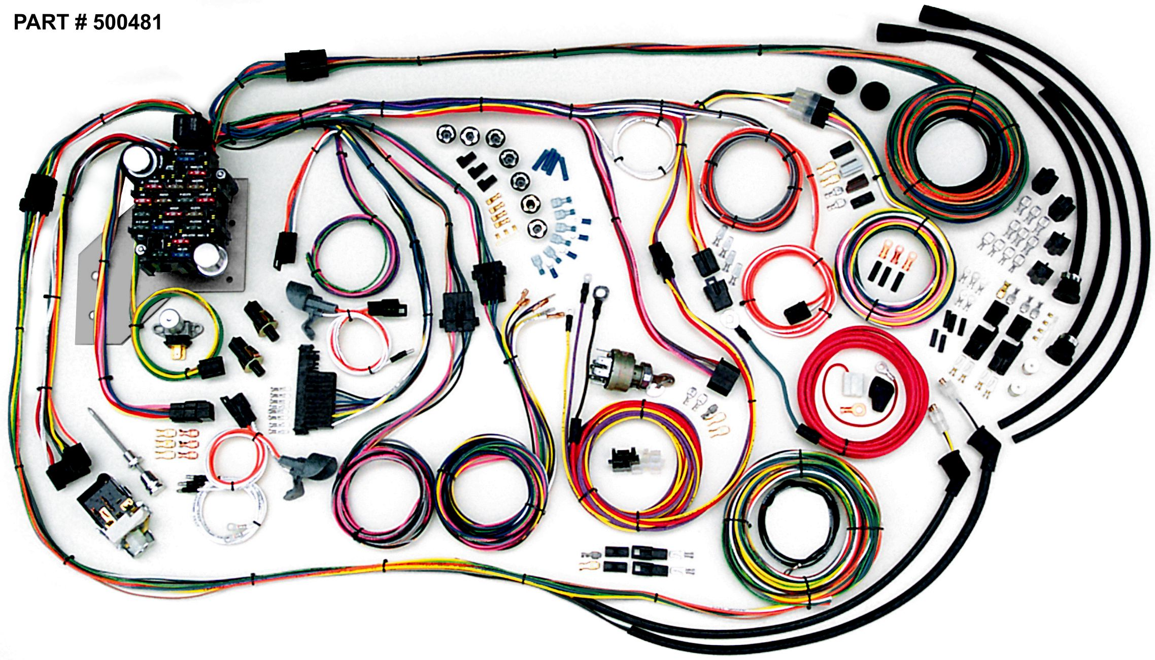 1955 2nd Series 1956 Chevrolet GMC Trucks RestoMod Wiring System - Gmc Truck Wiring Harness