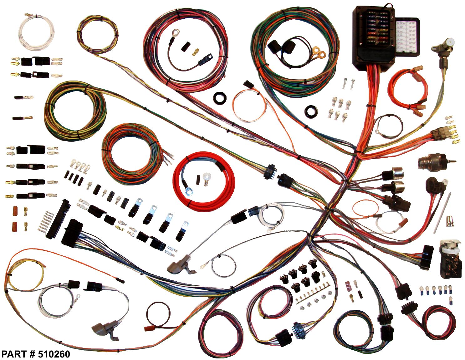 1961 1966 ford trucks restomod wiring system rh lectriclimited com ford truck wiring harness kit ford truck wiring harness kit